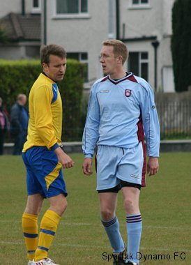 Tom Cullen Cup Final May 2011